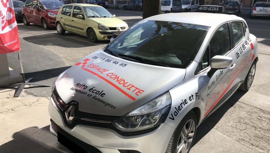 Marquage véhicule autoécole